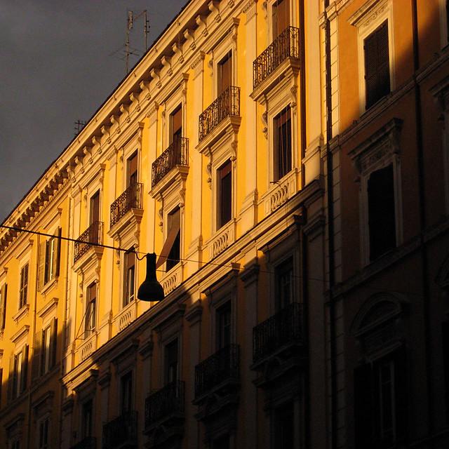 Sundown Colors in Rome