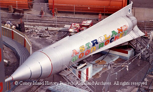 Astroland Moon Rocket © Coney Island History Project