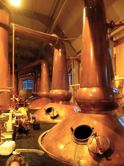 Spirit stills, Glenrothes distillery