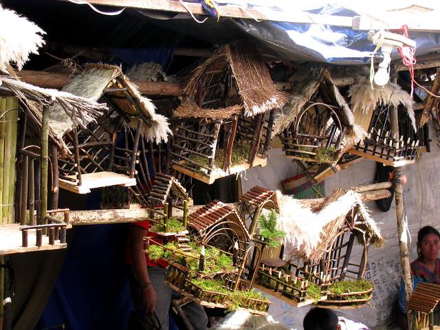 Ranchos o pesebres para nacimientos en los campos del - Casitas de nacimientos de navidad ...
