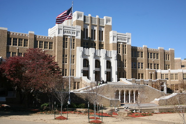 Little Rock Central High School by CC user nostri-imago on Flickr