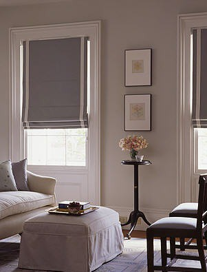 Gray bedroom: Farrow & Ball 'Pavilion Gray' + calm monochrome palette