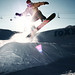 Snowboarder Jumping by Jeremy Snell