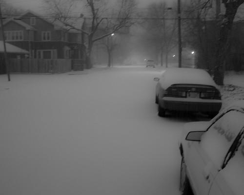 Lonely Winter Night