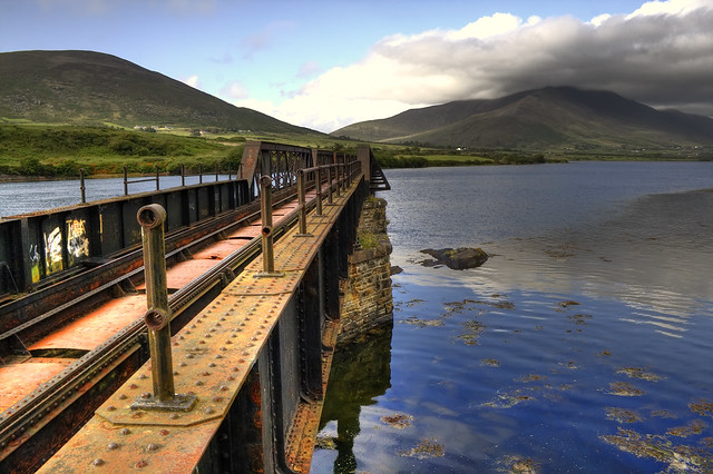 Bridge over Cahersiveen's river