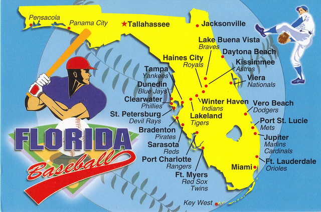 Mlb Spring Training Locations Florida Map.Xm Mlb Chat Lakeland Florida Sees Record Cold Temp Of 31 On