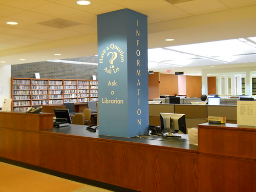 Image of the Reference/Information Desk