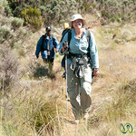 Audrey On Her Way Down Mt. Kilimanjaro - Tanzania
