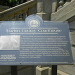 Marion County Courthouse Historical Marker