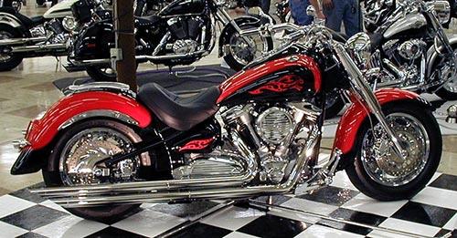 2001 Yamaha Road Star Custom Motorcycle