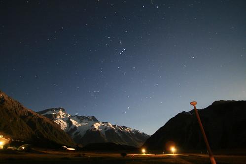 Staring sky @ Mt Cook