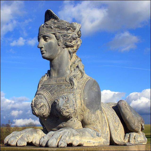 Compton Verney sphinx