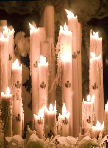 Candelería del paso de la Virgen del Dulce Nombre