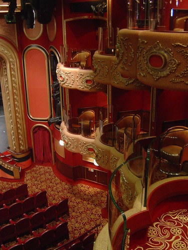 Cunard Queen Victoria Royal Court Theatre Boxes