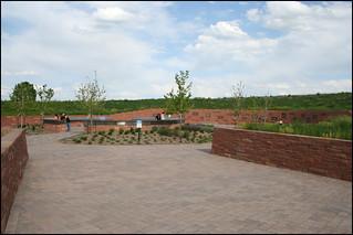 Image of Columbine Memorial near Columbine. littletoncolorado columbinememorial