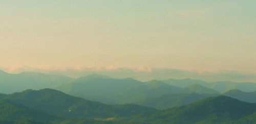 morning mountains sunrise landscape dawn wv smokies