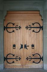 church door in fribourg