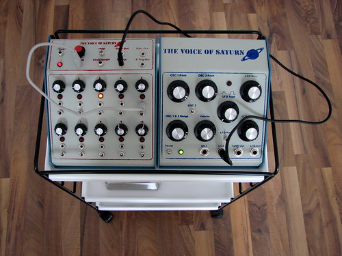 The Voice of Saturn Sequencer & Synthesizer by oliverchesler