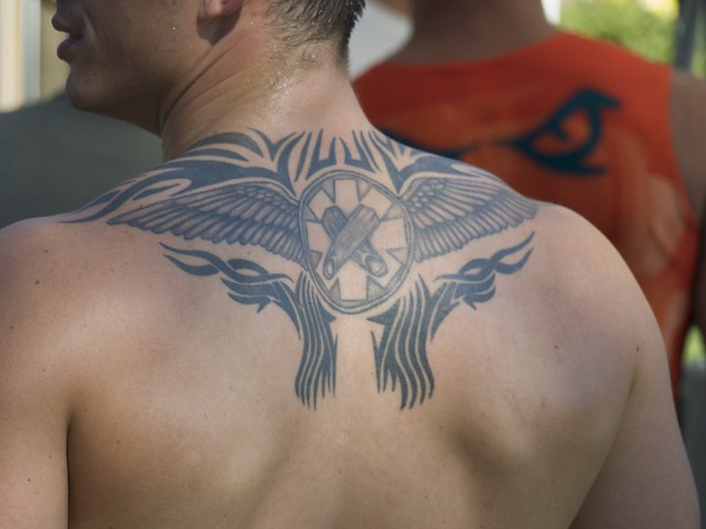 Tribal Wings and Crossed