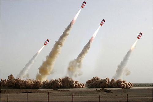 Original Iranian Missile Image