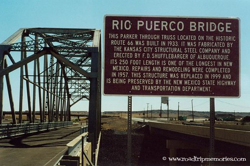 Rio Puerco Bridge - 19 miles west of Albuquerque, New Mexico