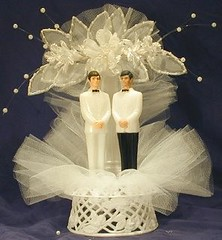 Image of wedding cake decoration from Flickr's The Commons