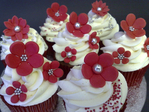 Honey & Rosewater Cupcakes