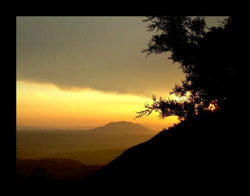sunset landscape tramonto sabina paesaggio soratte