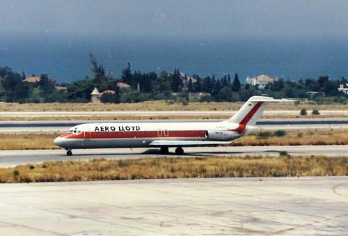 AERO LLOYD DC9-32 D-ALLC(cn778)