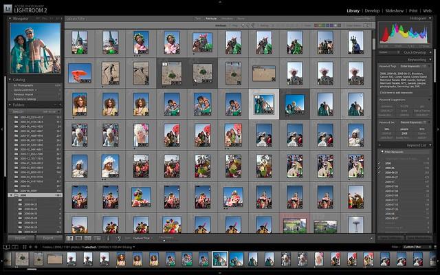 Adobe Photoshop Lightroom 2 / 2008-08-20 / SML Screenshots