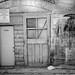 Boise Back Alley in B&W by sdidrik