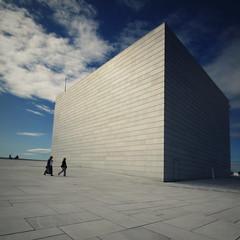 Oslo Opera House, Roof