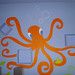 Orange Octopus by FLYoung Studio