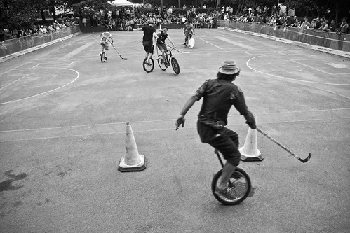 When Bicycle Polo Isn't Enough…