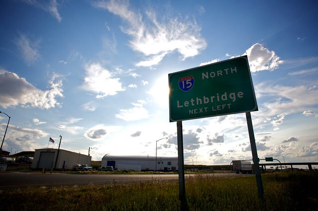 15 North Lethbridge Next Exit