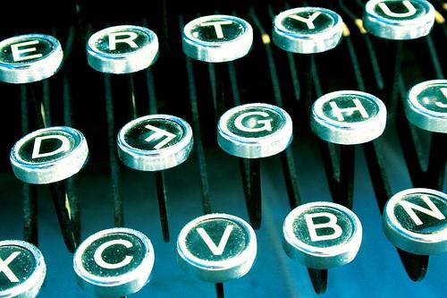 Skrivemaskintaster - Foto: Jon Nicholls / Flickr.com