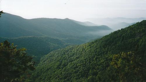 summer scenic northcarolina roadtrip scanned aps blueridgeparkway smokymountains appalachians