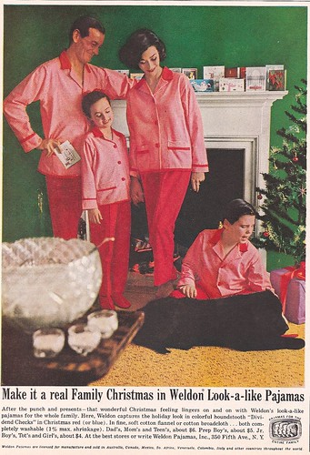 Tacky Weldon Look-a-like Pajamas c. 1960s