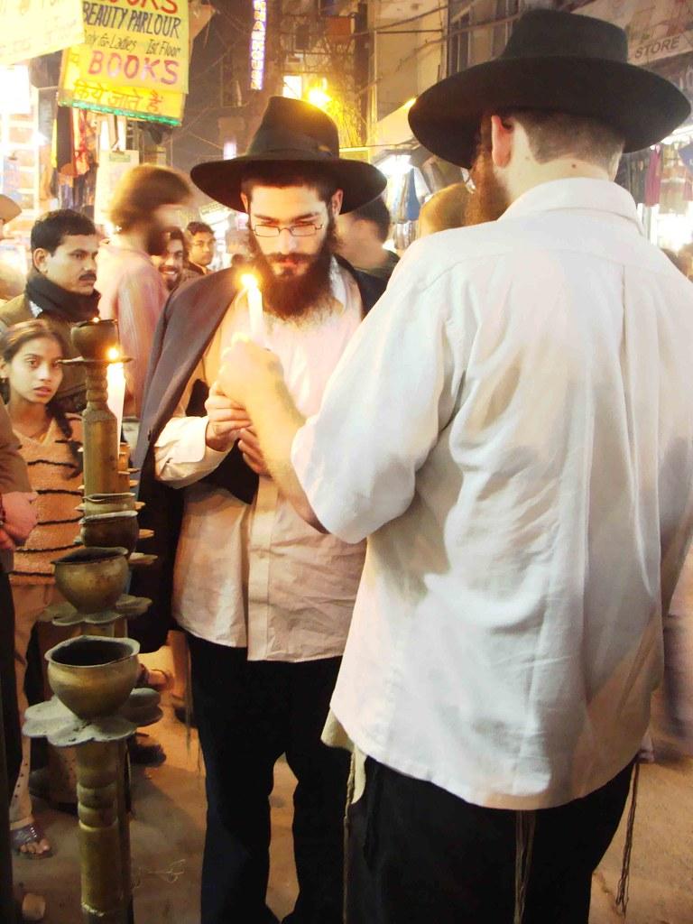 Hanukkah in Delhi