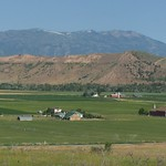Idaho Mountains and Farmland