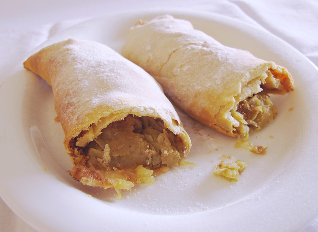 Apple, Cinnamon, and Sultana Strudel (far) | Flickr - Photo Sharing!