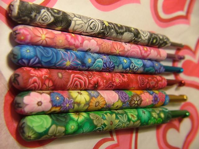 Millefiori Crochet Hooks