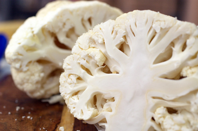 roasted cauliflower with indian spices and yogurt dip | Flickr - Photo ...