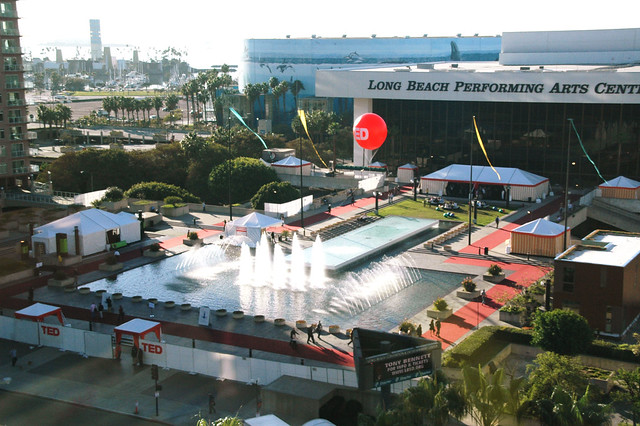 Ted 2009 long beach california a shot looking over the for Terrace theater long beach
