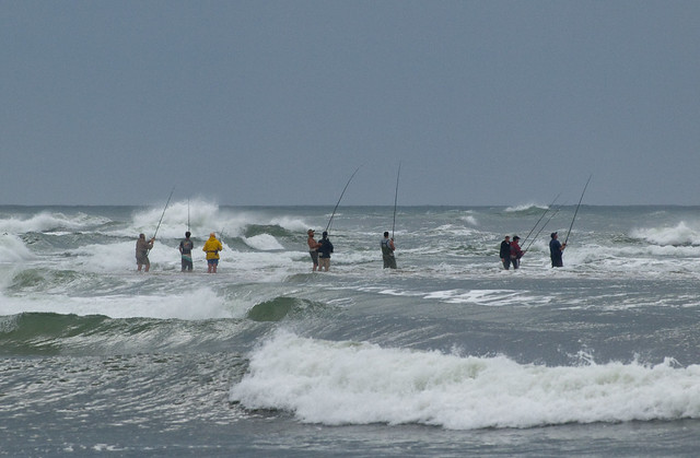 Surf fishing the point cape point hatteras flickr for Nc surf fishing report
