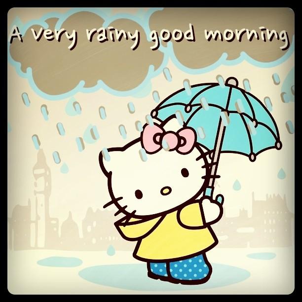 Clip Art Rainy Day Quotes: Rainy Good Morning My Friends 20/5/11
