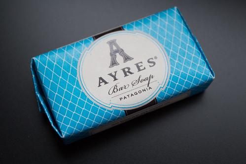 Ayres bar soap in Patagonia