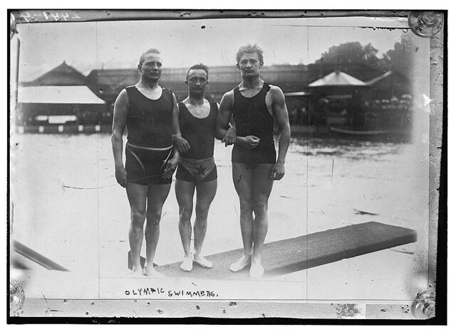 Olympic swimmers  (LOC)
