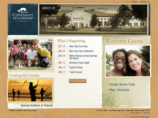 Covenant Fellowship Church - Home Page