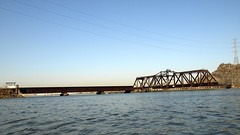 DB Draw Railroad Bridge over Hackensack River, New Jersey